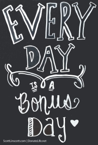 Every day bonus day
