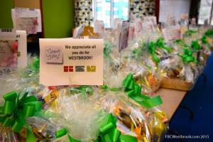 Each year our church family puts together gift baskets to thank all the people who serve the public.