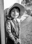 This little guy was waiting outside a school I visited in Yalu, Guatemala. He was very happy when I gave him my hat.
